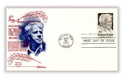 1974 10c Robert Frost
