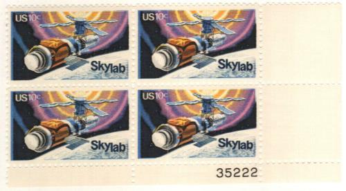 1974 10c Skylab Project