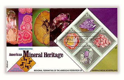 1974 10c Mineral Heritage
