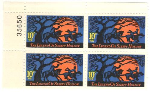 1974 10c The Legend of Sleepy Hollow