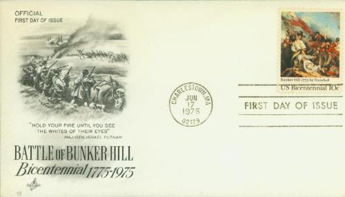 1975 10c Battle of Bunker Hill