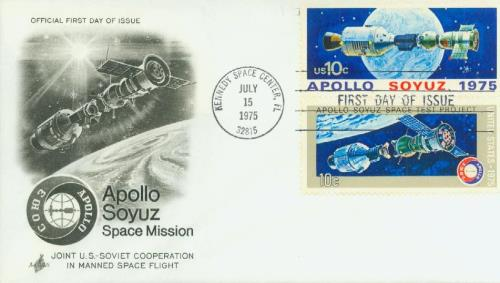 1975 10c Apollo-Soyuz Space Mission