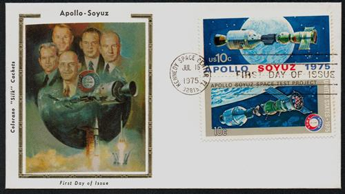 1975 10c Apollo-Soyuz Space Mission for sale at Mystic Stamp