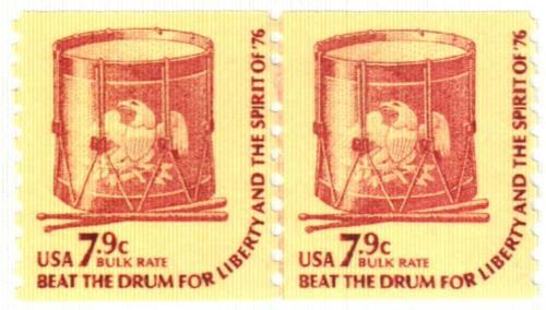 1976 7.9c Americana Series: Drum