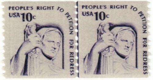 1977 10c Americana Series: Justice, coil