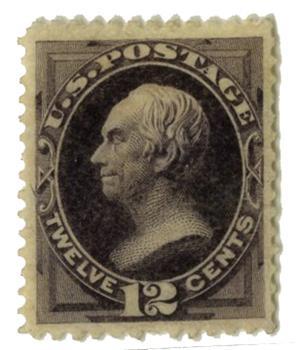 1873 12c Clay, blackish violet