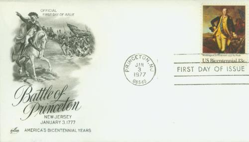 1977 13c Washington at Princeton
