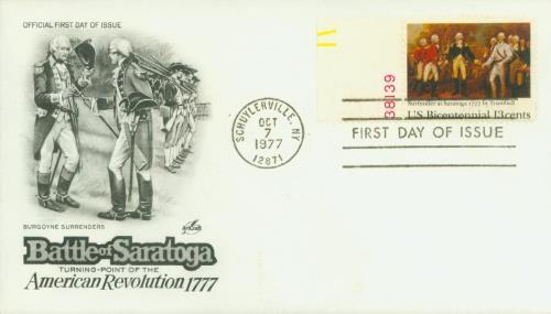 1977 13c Surrender at Saratoga