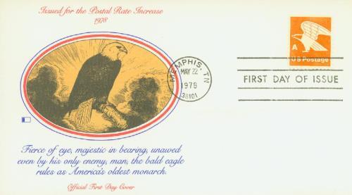 1978 15c Orange Eagle A Rate, Perforation 11x10.5 Booklet ...