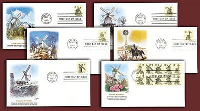 1980 15c USA Windmills