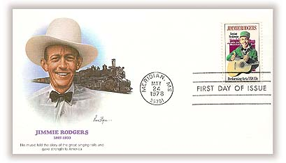1978 13c Performing Arts: Jimmie Rodgers