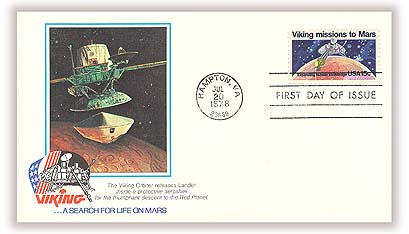 1978 15c Viking Missions to Mars