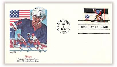 1980 15c Winter Olympics: Hockey