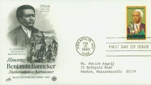 1980 15c Benjamin Banneker
