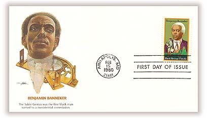 1980 15c Black Heritage: Benjamin Banneker