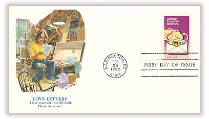 1980 15c Letter Writing: Letters Preserve Memories