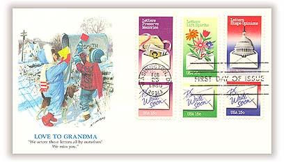 1980 15c Letter Writing