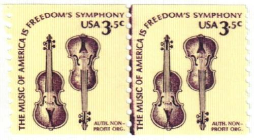 1980 3.5c Violins, coil