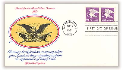 1980-81 18c B-rate Eagle, booklet single