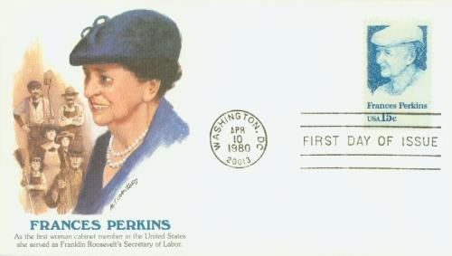 1980 15c Frances Perkins