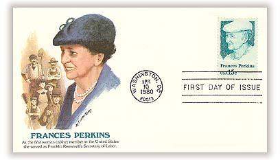 1980 15c Frances Perkins