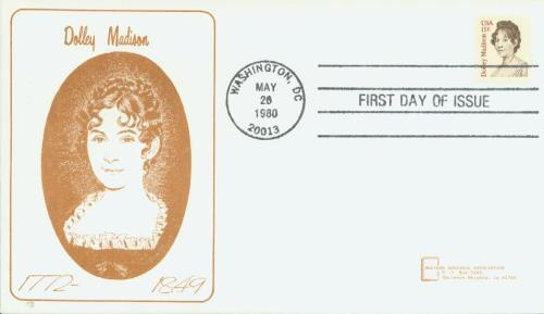 1980 15c Dolley Madison