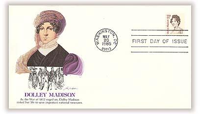 1980 15c Dolley Madison