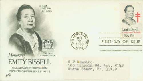 1980 15c Emily Bissell