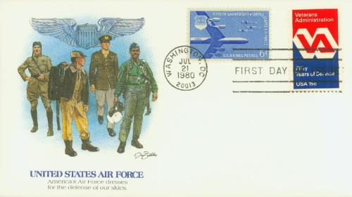 1980 15c Veterans Administration