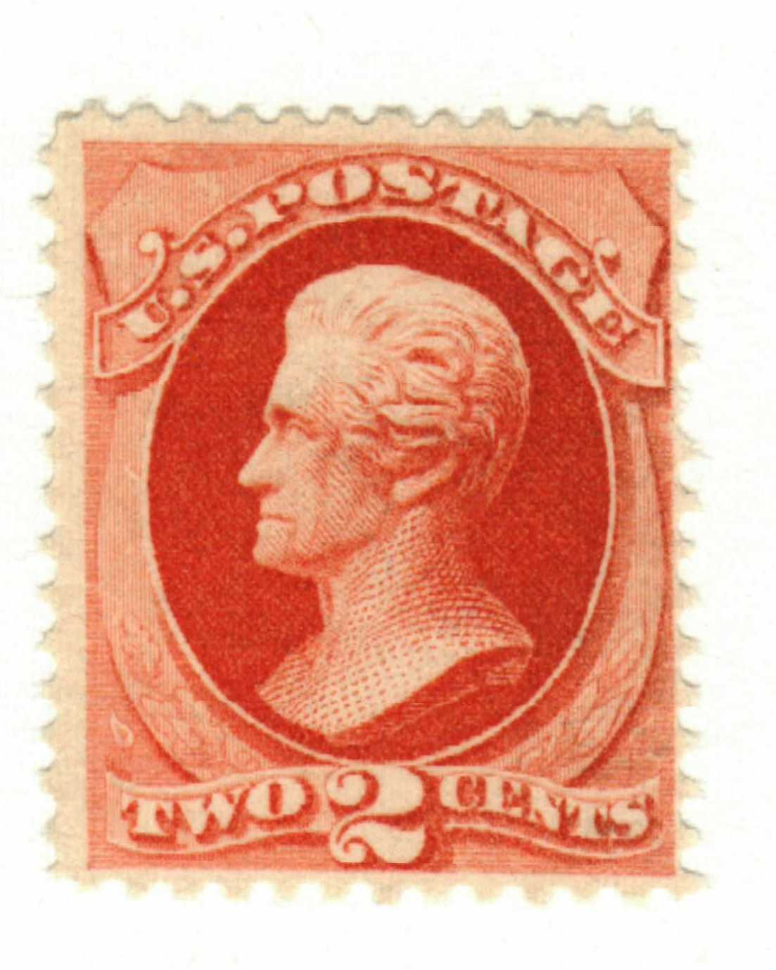 1879 2c Andrew Jackson Vermilion For Sale At Mystic Stamp Company