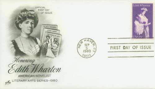 1980 15c Edith Wharton