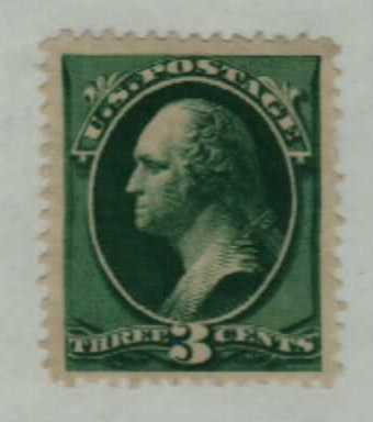1879 3c Washington, green