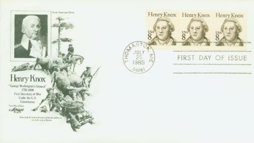 1985 8c Great Americans: Henry Knox