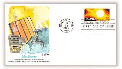 1982 20c Knoxville World's Fair: Solar Energy