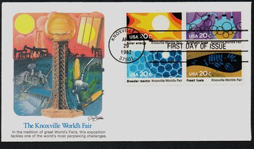1982 20c Knoxville World's Fair