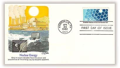 1982 20c Knoxville World's Fair: Breeder Reactor