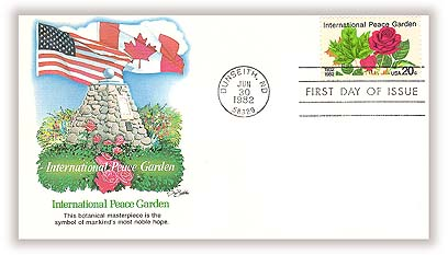 1982 20c International Peace Garden