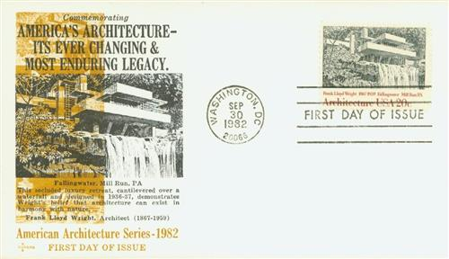 1982 20c American Architecture: Falling Water