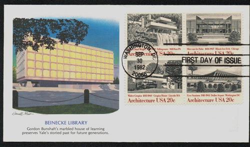1982 20c American Architecture