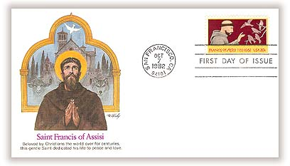 1982 20c Francis of Assisi