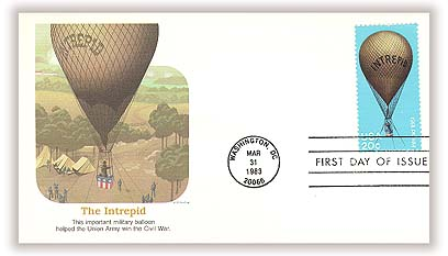 1983 20c Balloons: Intrepid