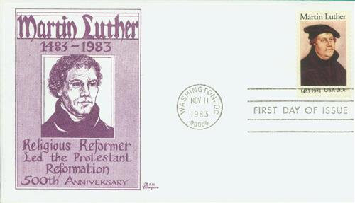 1983 20c Martin Luther