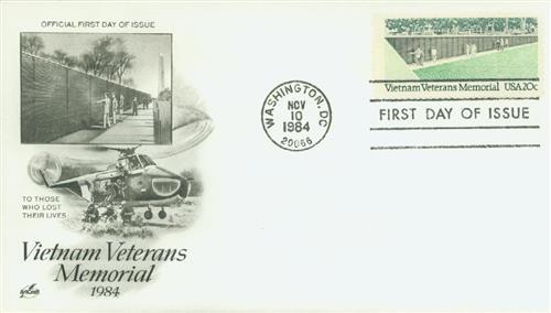 1984 20c Vietnam Veterans Memorial