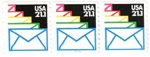 1985 21.1c Sealed Envelopes