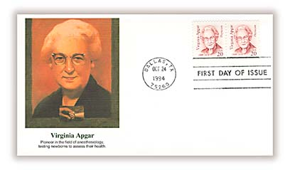 1994 20c Great Americans: Virginia Apgar