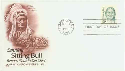 1989 28c Great Americans: Sitting Bull
