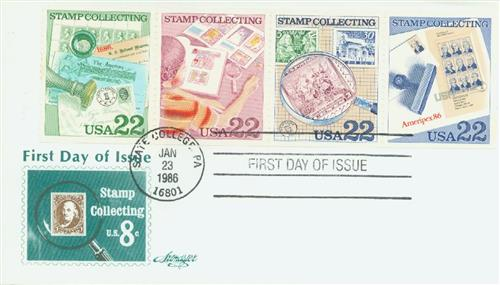 1986 Stamp Collecting se-ten 4v