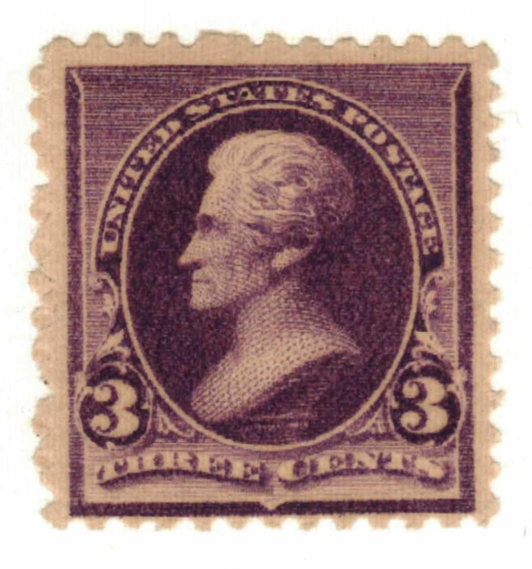 1890 3c Jackson, purple