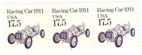 1987 17.5c Transportation Series: Race Car, 1911