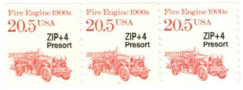1988 20.5c Transportation Series: Fire Engine, 1900s